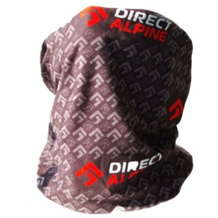 Šatka Direct Alpine MULTI black (logo)